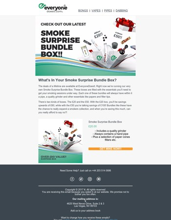 Smoke Surprise Bundle Box | What's In Yours?