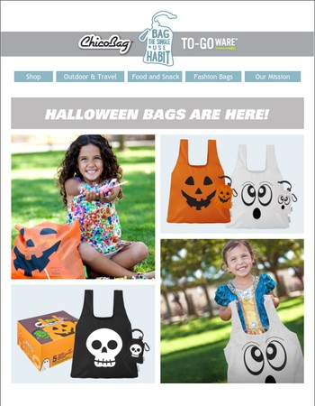 Halloween Bags Have Arrived