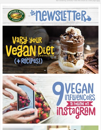 Interested in becoming vegan, friend? We'll help you along the right path.