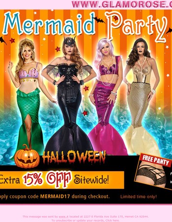 Mermaid Party! 15% OFF Sitewide Coupon Inside
