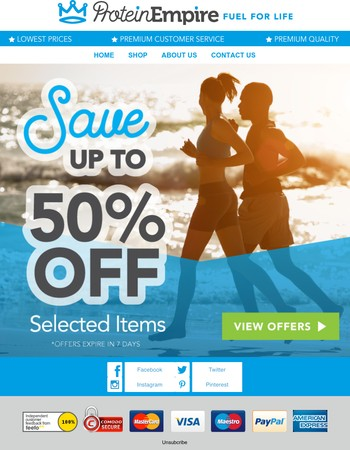 Don't Forget Save Up To 50% Off - While Stocks Last