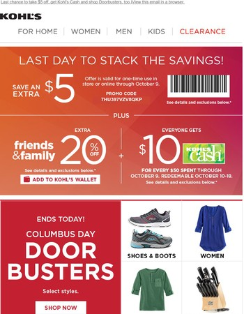 Last day to save 20% during the Friends & Family Sale!