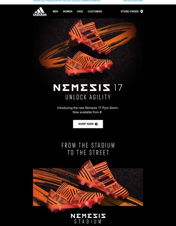 Introducing… the stunning new Nemeziz 17 Pyro Storm