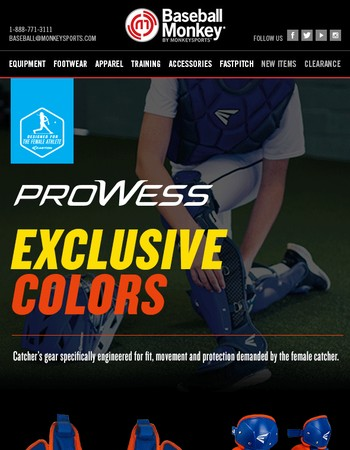 New Easton Prowess Exclusive Colors!