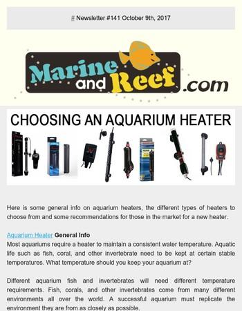 MarineAndReef.com --Choosing An Aquarium Heater
