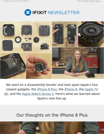 Here's everything we learned from taking apart Apple's four latest gadgets.