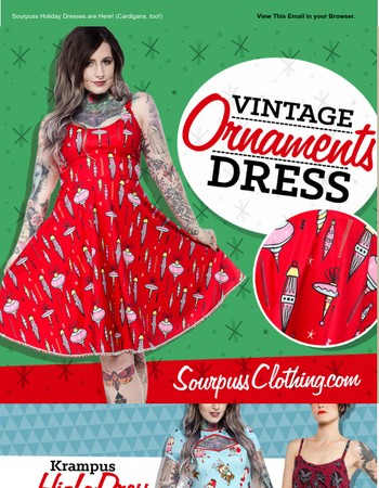It's A Lil' Early for Xmas...But F*ck It: New Sourpuss Holiday Stuff is Here!