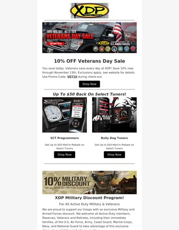 You Save Today - Veterans Save Every Day