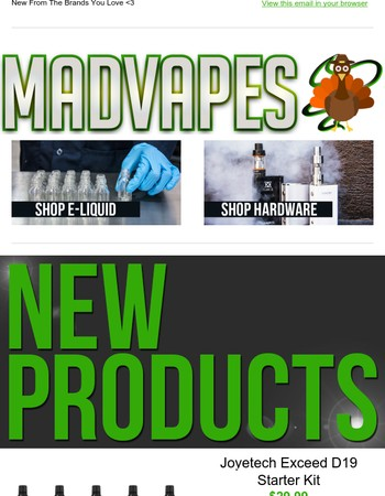 New Products Are Now Live!
