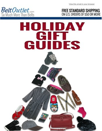 Find The Perfect Present With Our Holiday Gift Guides