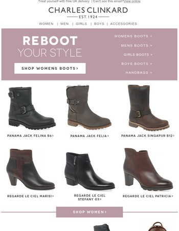 Severe Style Warning! Irresistible Boots Enclosed.