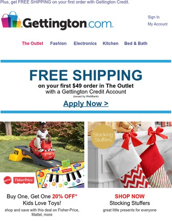 BOGO 20% OFF toys from Mattel, Fisher-Price and more!