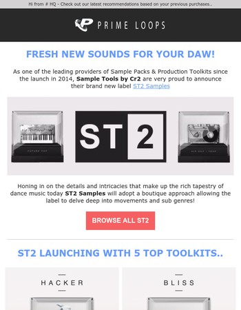 Introducing: ST2 Samples by Cr2 | Top-Trending Sound Packs & plenty more Inspiration!