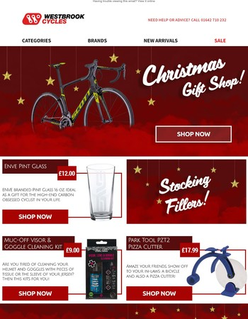 Westbrook Cycles Newsletter