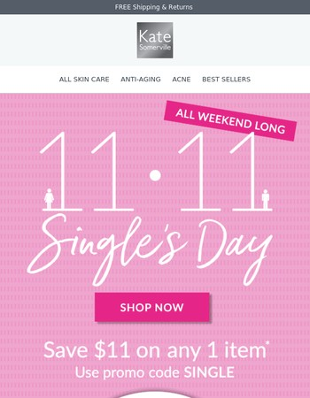 Last Chance | Save $11 on any 1 item
