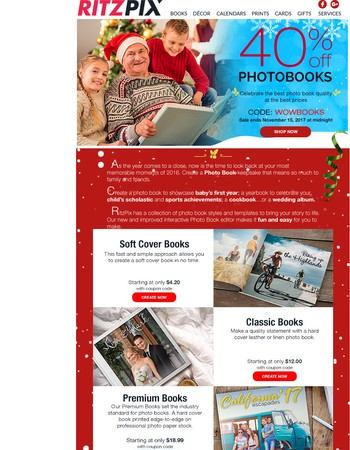 BETTER photobooks, BETTER pricing exclusive for you Mary