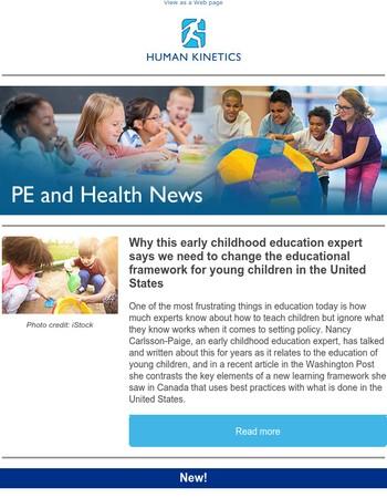 Human Kinetics: PE and Health News November 2017