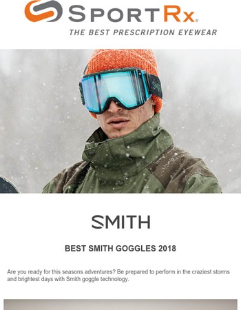 ❄️ BEST Smith Goggles 2018
