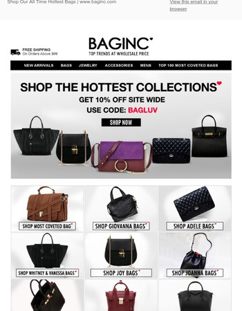 Our All Time Hottest Collection Of Bags