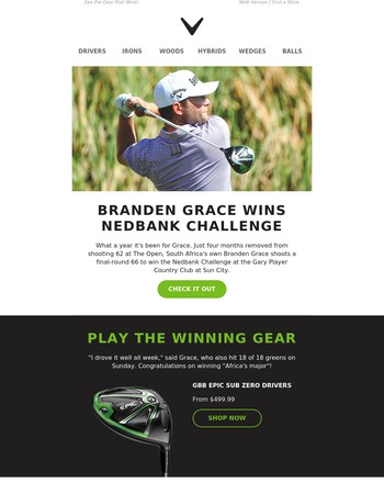 An Epic Win At Home For Branden Grace