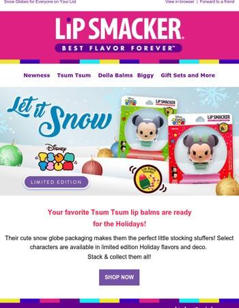 Shop Limited Edition Holiday Tsum Tsum!