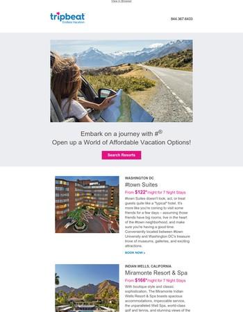 Endless Vacation Rentals Newsletter
