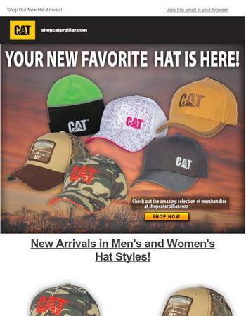 New Hat Arrivals!
