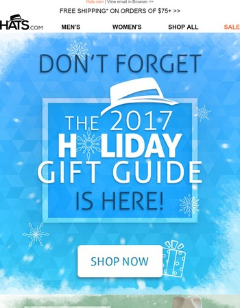 ❄ Shop our Gift Guide for the Holidays ❄