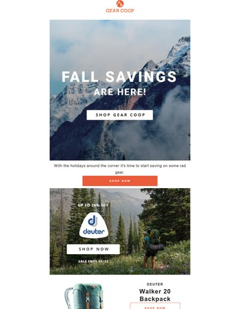 Fall Into Great Savings!
