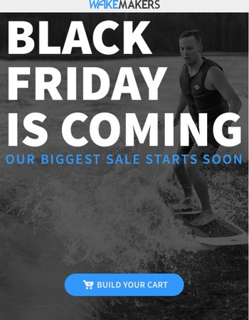 Our Biggest Sale Of The Year Starts Soon