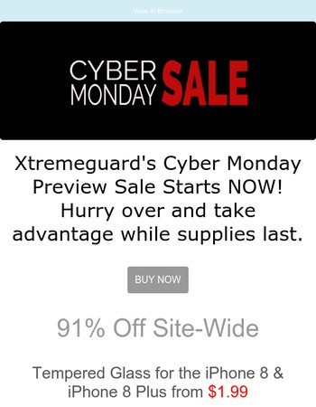 Cyber Monday Preview Sale Starts NOW!