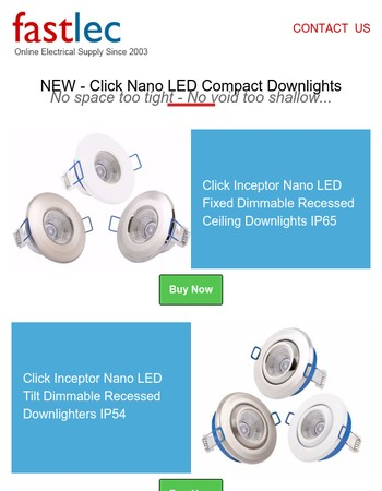 Looking for a great downlight that fits anywhere?