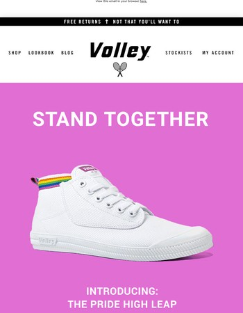 Introducing: The Volley Pride