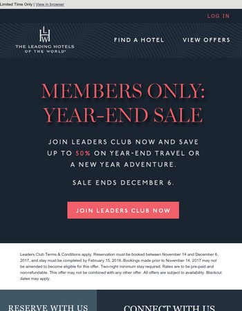 Save Up To 50%: Year-End Sale On Now