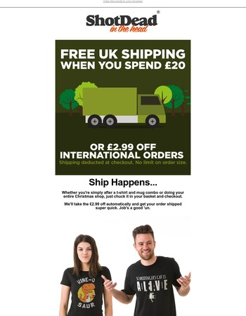 FREE SHIPPING IS GO GO GO!