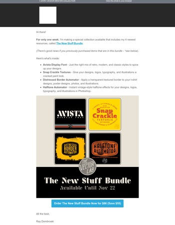 Limited Edition: The New Stuff Bundle