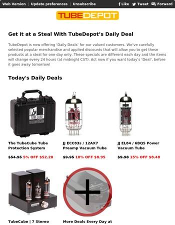 Daily Deals at TubeDepot