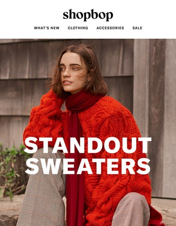 Get ready to meet your new favorite knits