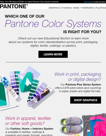Which Pantone Color System is right for you?