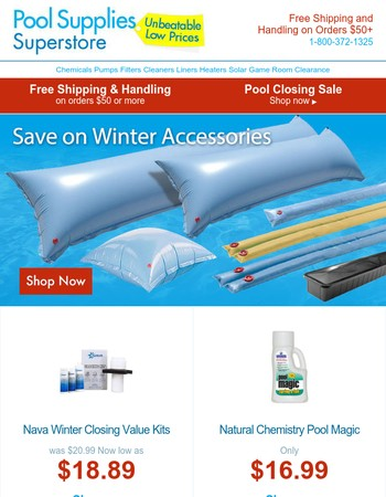 Save on Winter Accessories & More