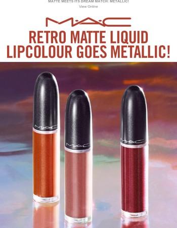 Your Favourite Lip Colour Gets a Metalized Twist