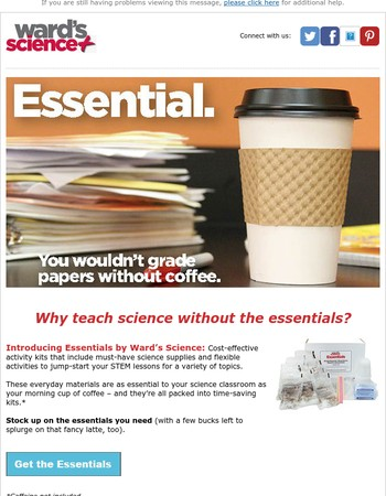 Mary, First Coffee, Then Science.
