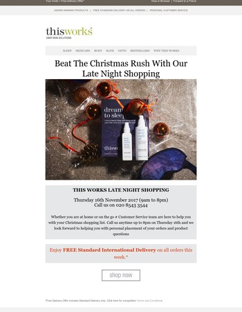 Beat the Rush With Late Night Shopping