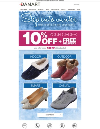 Choose the right winter shoes for you!