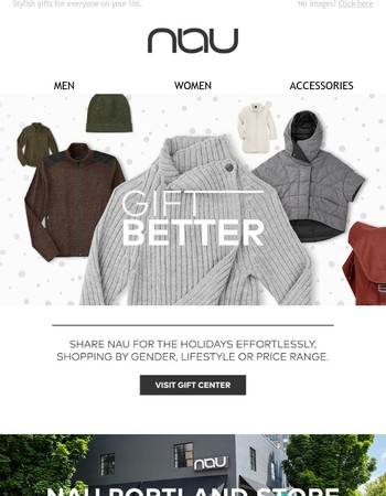 Shop Our Gift Center to Gift Better