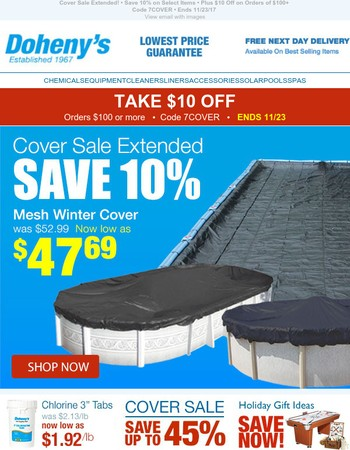 Cover Sale! Save up to 45%