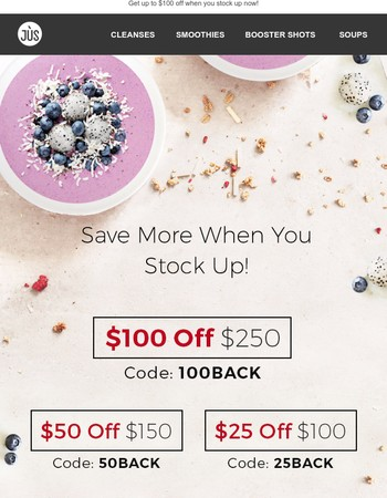 $100 Savings Could Be Yours!
