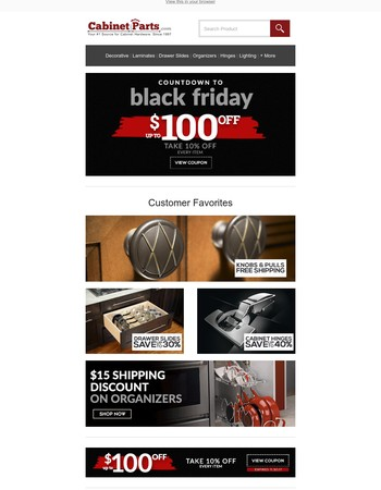 Countdown to Black Friday Continues