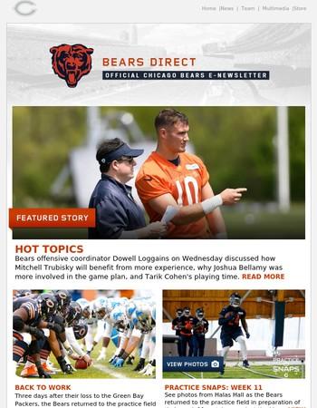 Bears Direct: Hot Topics