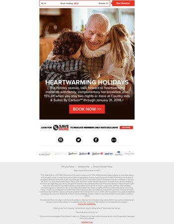 Savings and service that will warm your heart